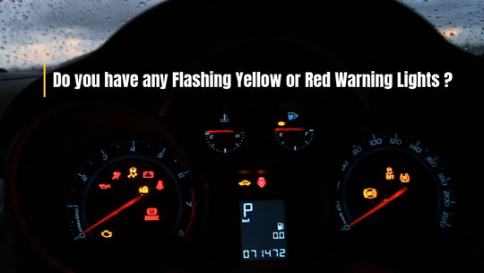 Warning Lights Video Image