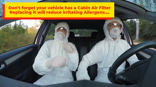 Air Filter Allergy Video Image