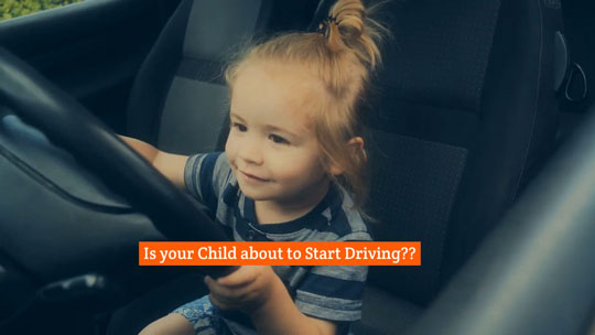 Kids Beginning to Drive Video Image